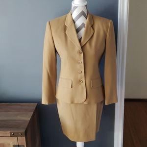 Jones New York Wool Skirt Suit Set